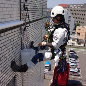 埼玉県川越市ビル/ビル外壁洗浄